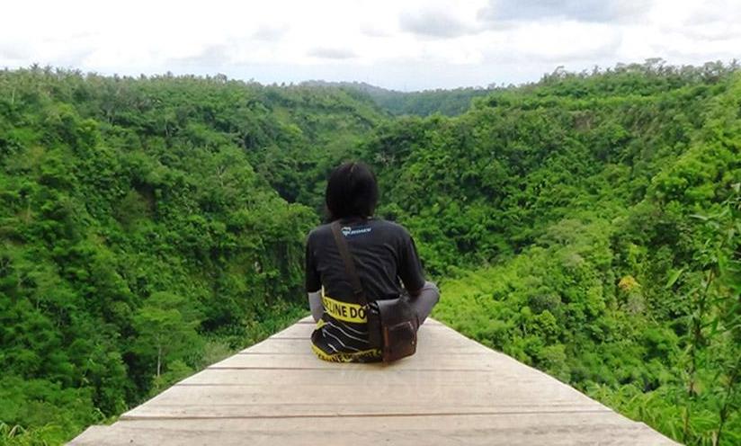Wisata Lembah Tukad Melangit Desa Jehem Antugan Bangli