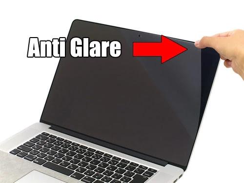 Pemasangan lapisan anti glare yang benar