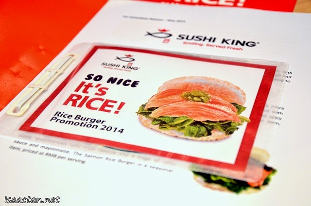 Sushi King Japanese Rice Burger - So Nice, It's Rice !
