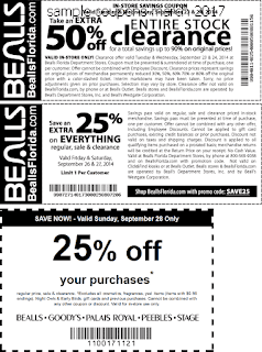 free Bealls coupons march 2017