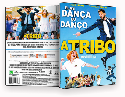 CAPA DVD – Elas Dança eu Danço a Tribo – 2018 – ISO