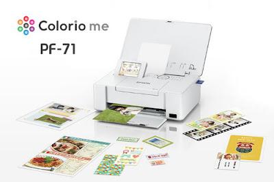 エプソンcolorio PF71ドライバ