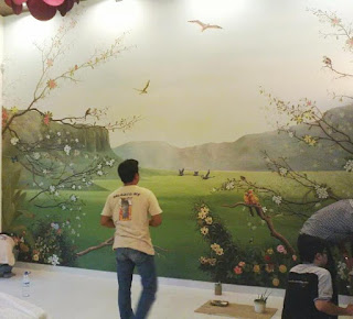 Mural Painting by Leonarto