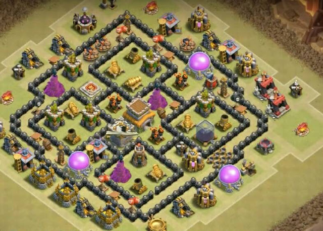 Top 10 Amazing Th8 War Base Anti Gowipe Anti Hogs Anti Dragon