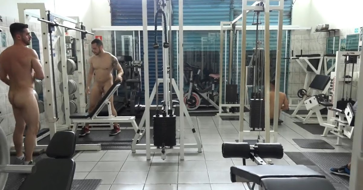 Naked Men In Gym And Shower