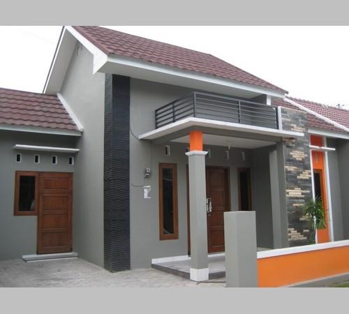 Desain Teras Rumah Minimalis Lantai 2 Type 36 45 Model