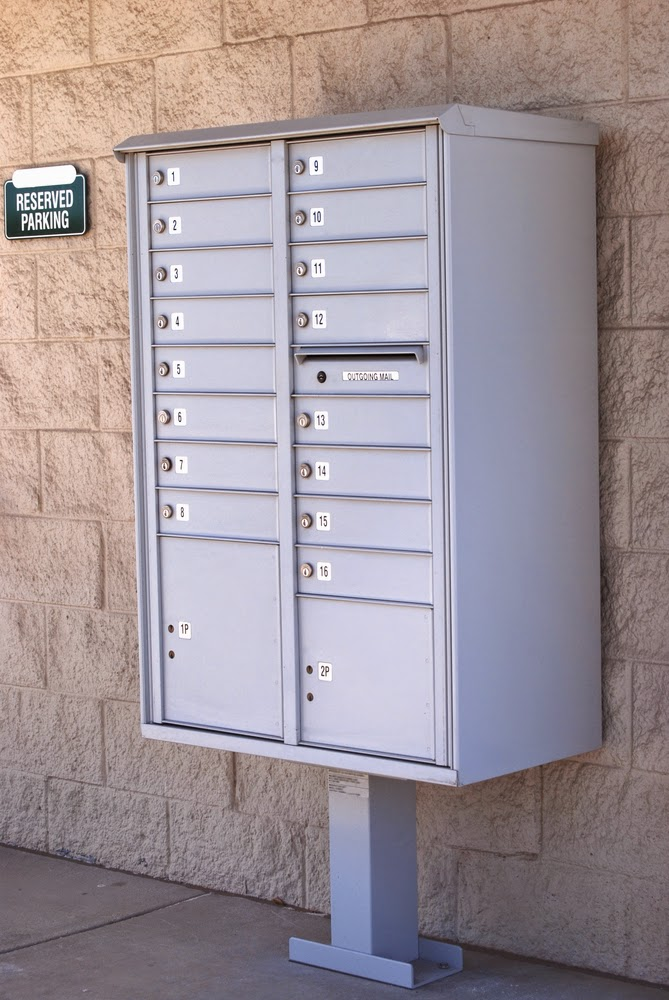 Apartment Building Mailboxes