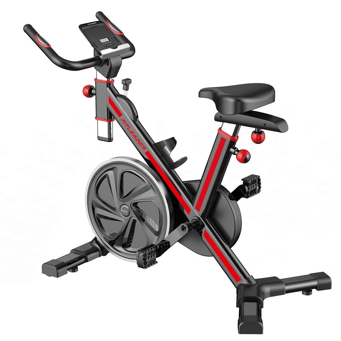 exercise bike zone fitleader fs1 indoor cycle spin bike. Black Bedroom Furniture Sets. Home Design Ideas