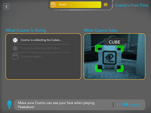 cozmo free time app view