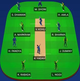 India vs South Africa Dream 11 Predictions