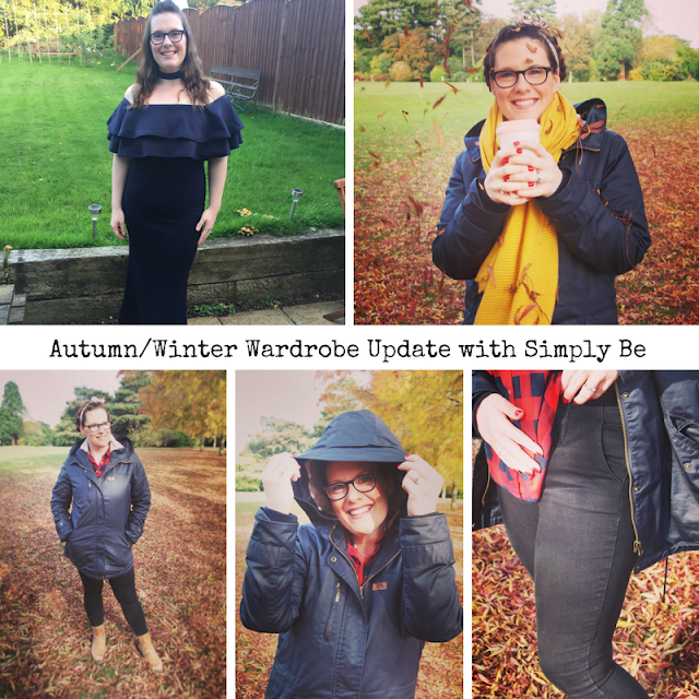 Mrs Bishop's Bakes and Banter: Autumn/Winter Wardrobe Update with Simply Be