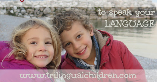 Simple way to motivate your bilingual child to speak your language.