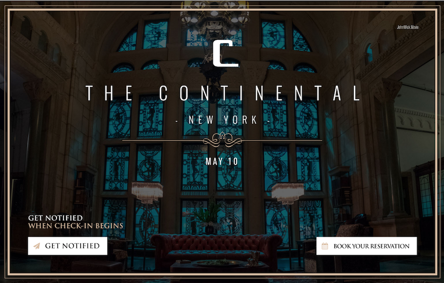 Welcome To Thecontinental Make Your Reservation Online
