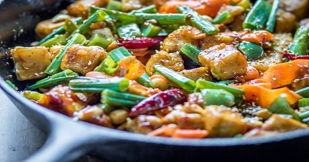 Hoisin Tofu Stir Fry Recipe