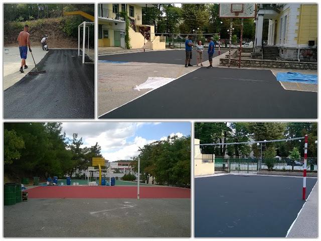 Γιάννενα: Ο δήμος Ιωαννιτών αναβαθμίζει τις αθλητικές υποδομές στα σχολεία