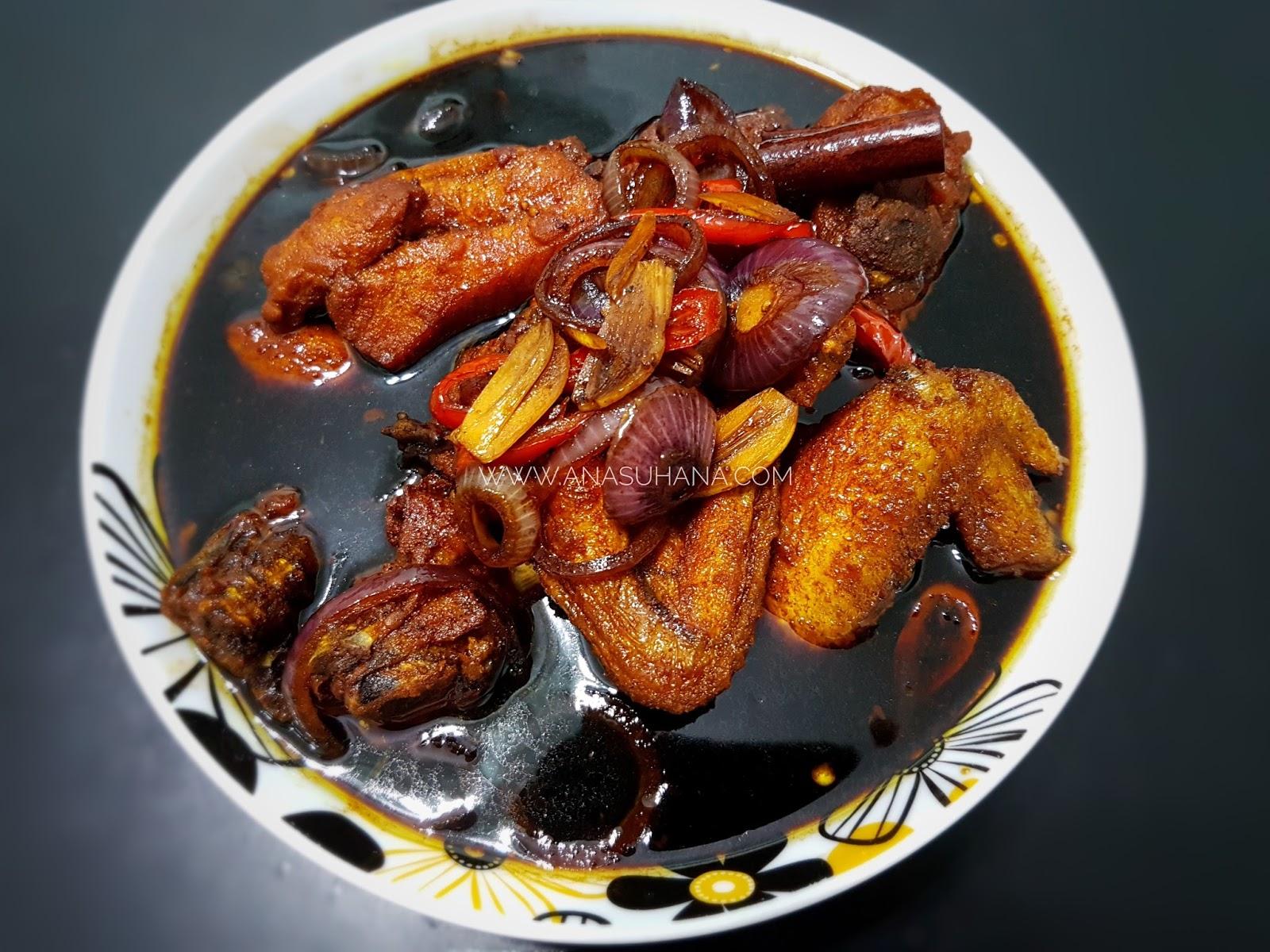 Resipi Ayam Masak Kicap Mudah dan Cepat