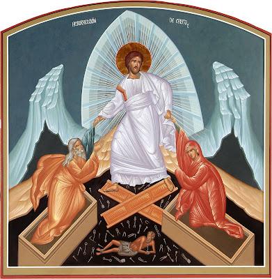 Resultado de imagem para ressurreição do senhor icone