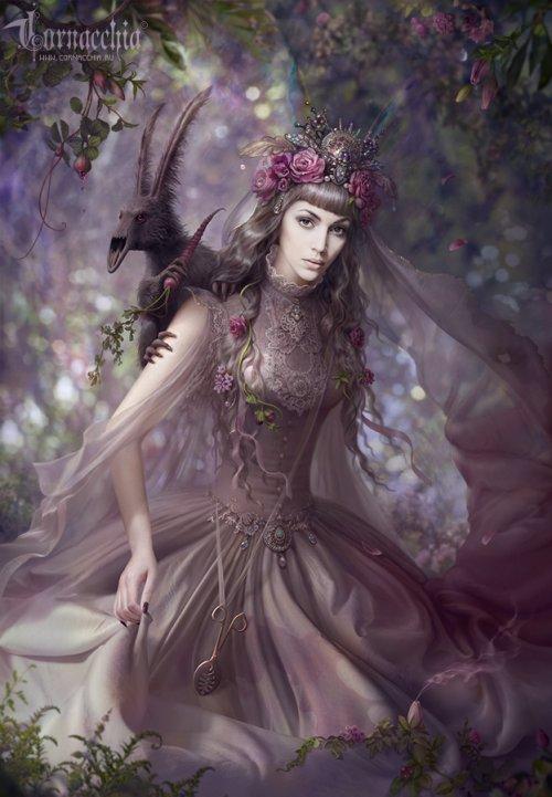 Olga Cornacchia deviantart foto-manipulações photoshop fantasia surreal sombria