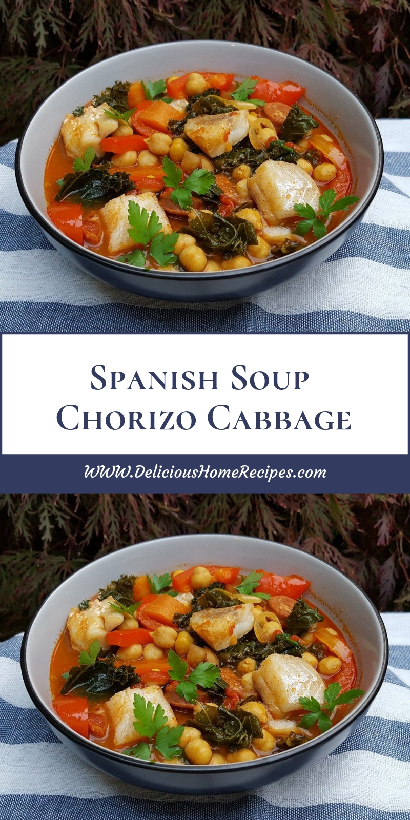 Spanish Soup Chorizo Cabbage