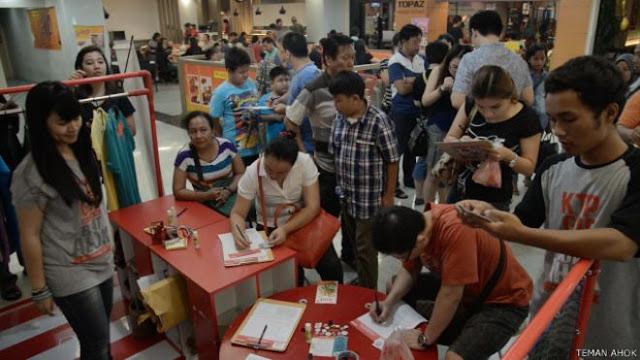 Inilah Alasan Warga Jakarta Rela Antre demi Dukung Ahok