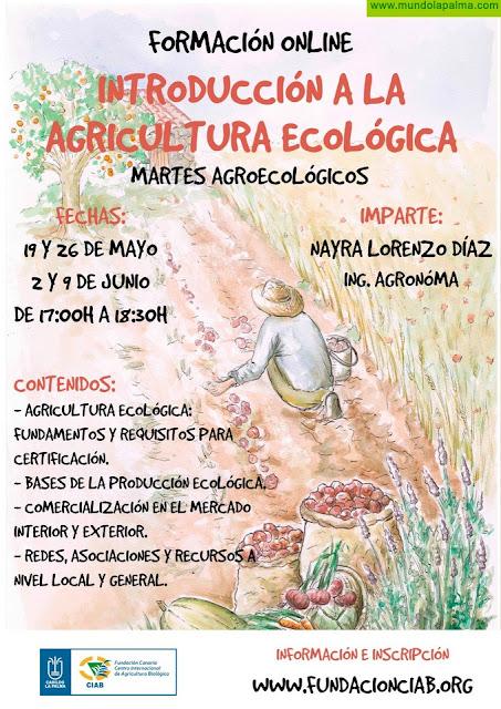 La Fundación CIAB impartirá un curso on line de introducción a la agricultura ecológica