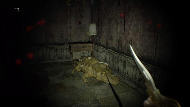 Resident Evil 7 cuchillo