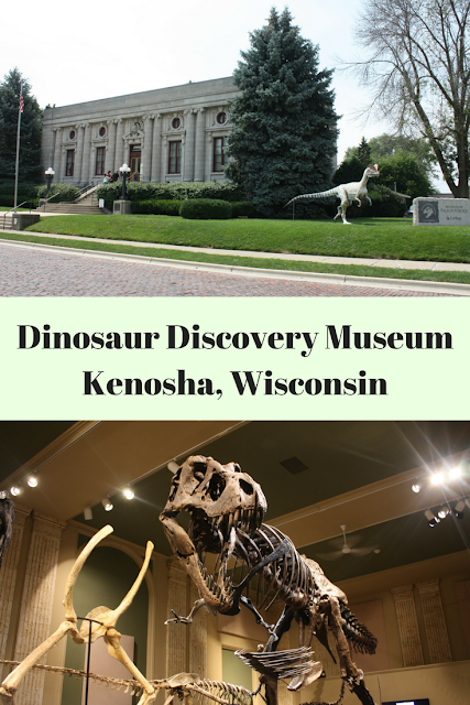 Family day at the Dinosaur Discovery Museum in Kenosha, Wisconsin