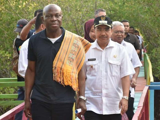Pantau Program CCDP IFAD di NTT, Gilbert Houngbo Kunjungi Kupang