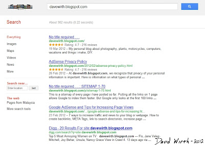Rich Snippets star and user rating