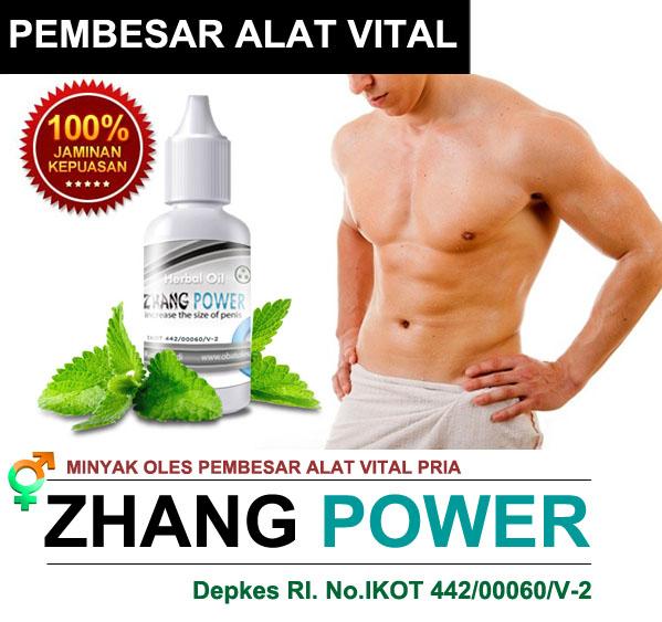 zhang power obat oles herbal pembesar alat vital