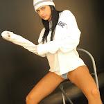 Andrea Rincon, Selena Spice Galeria 19: Buso Blanco y Jean Negro, Estilo Rapero Foto 84