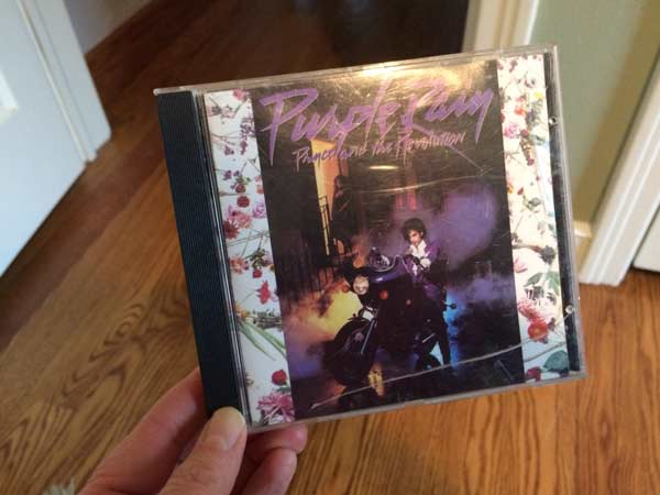 CD cover of Prince's Purple Rain