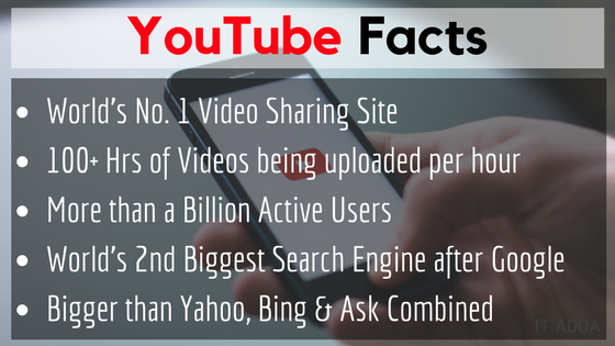 Top 5 YouTube Facts