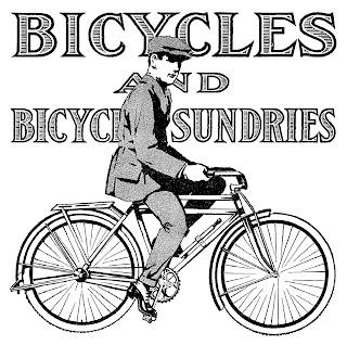 bike vintage image advertisement