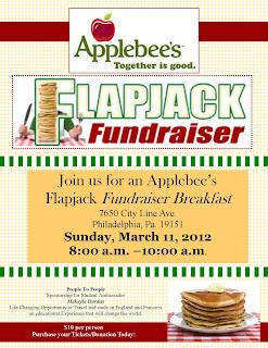 makayla travels applebees flapjack fundraisier april 5 2014. Black Bedroom Furniture Sets. Home Design Ideas
