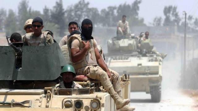 الجيش المصرى يواصل تطهير اراضى سيناء من التكفيريين