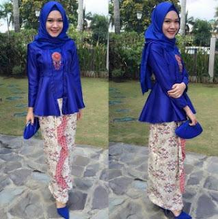 Kebaya modern hijab model kutu baru