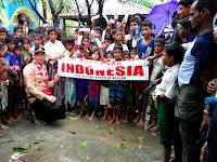 Luar Biasa! Pramuka Tembus Tiga Lokasi Pengungsian Rohingya