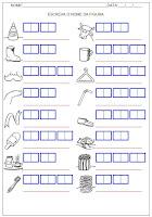 Confira algumas atividades para a hipótese de escrita silábica alfabética, são ótimas atividades para alunos no processo de alfabetização.