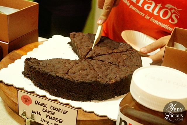 Dark Chocolate Cake at Cookie Bar Manila