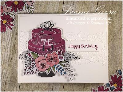 A La Cards Happy 75th Birthday