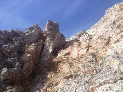 Nome rockclimbing