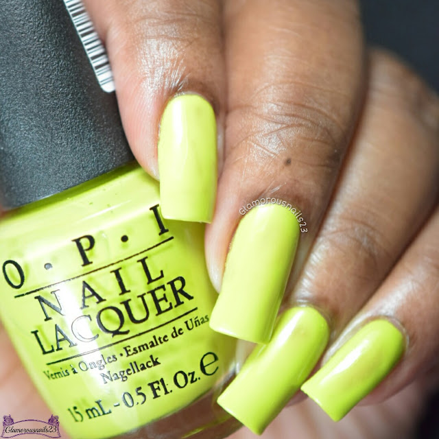 O.P.I Tart Green Apple