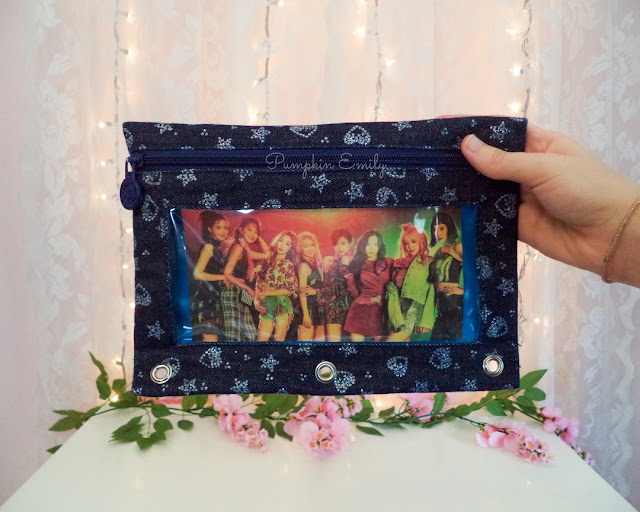 DIY Kpop Pencil Pouch