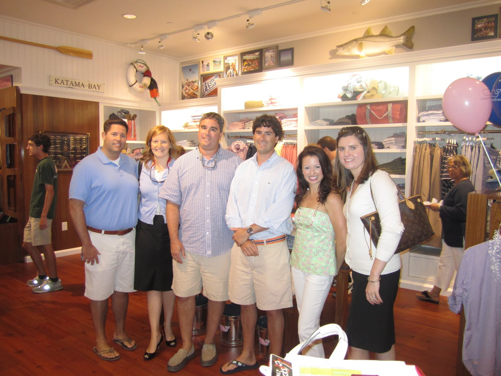 Classic Annie Vineyard Vines Grand Opening In Charlotte