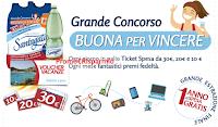 Logo Acqua Santagata ''Buona per vincere'': vinci Ipad, Robot da cucina, voucher e Ticket Compliments da 5.000€