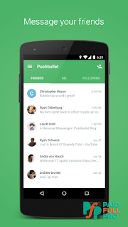 Pushbullet SMS on PC latest pro apk download