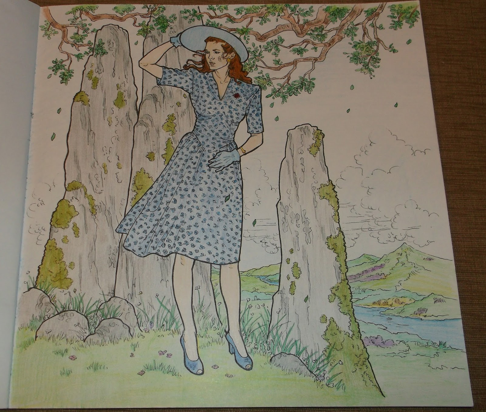 Simply Angela The Official Outlander Coloring Book