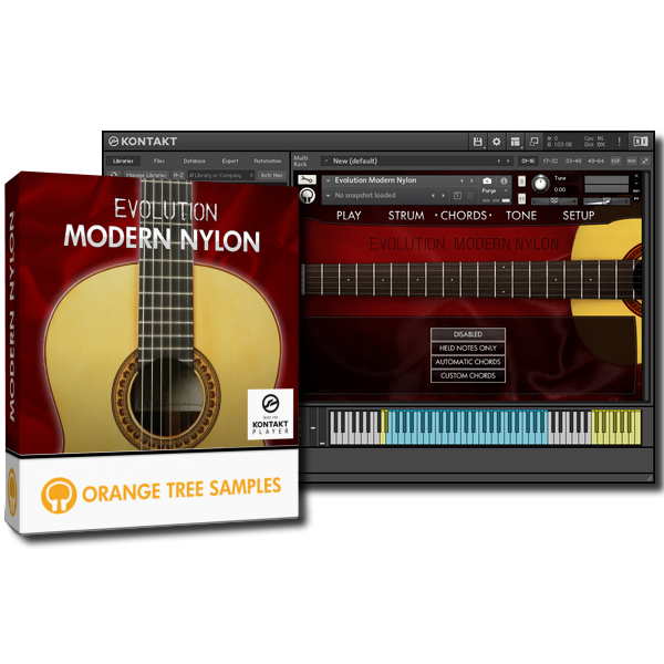 Orange Tree Samples - Evolution Modern Nylon KONTAKT Library