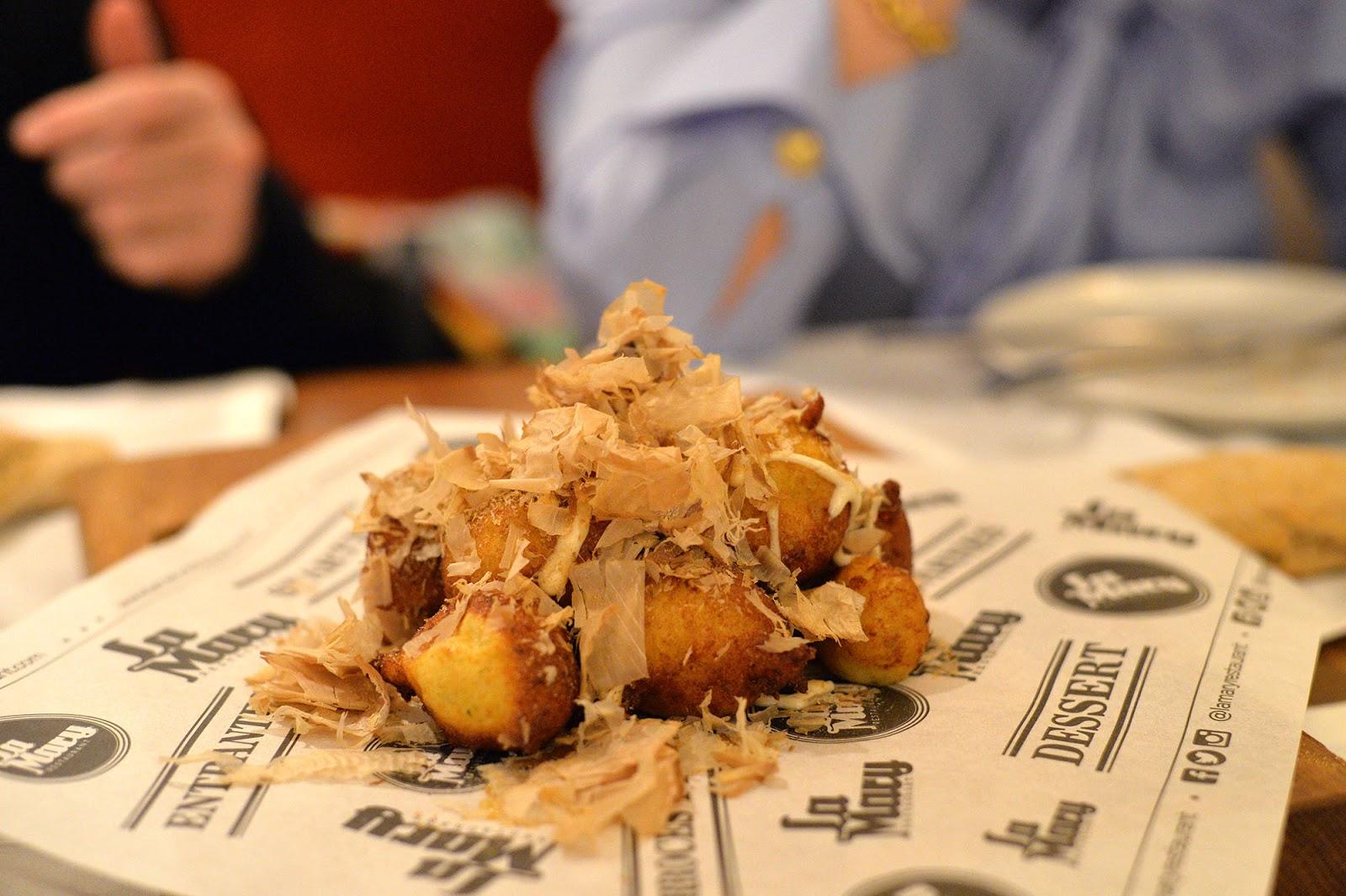 La Mary restaurant Leon Spain buñuelos bacalao